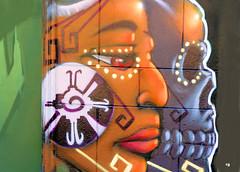 Life in Death (Rob Goldstein-Working) Tags: life art texture canon mexico death graffiti mural raw foto rob urbanart graffitiart urbex muralart aztex robertgoldstein artbyrobgoldstein