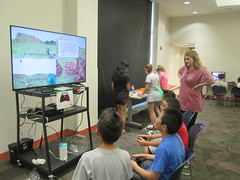 Gamers in Time @ Haggard Library 6/17/16 (plano.library) Tags: xbox360 library libraries tx haggard familyfun plano allages ppls libraryprogram connectingfamilies planopubliclibrarysystem minecraft gamersintime