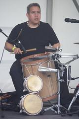 Bahareque (2016) 14 (KM's Live Music shots) Tags: drums venezuela worldmusic bahareque bomboandino barkingfolkfestival wilmersifontes abbeygreenbarking