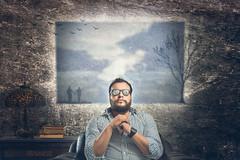 Me (Christian Rentera) Tags: portrait selfportrait man male art canon mexico arte artistic retrato mexican conceptual fotgrafo toluca metepec strobist canon2470mmf28lusm canon6d christianrentera lordmclovin