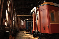 Junee Railway Roundhouse Museum (Darren Schiller) Tags: windows history museum architecture train industrial carriage railway infrastructure newsouthwales junee roundhouse