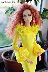 Numina Emry (meg fashion doll) Tags: numina emry debut paul pham fashion doll dolls doll16 resin outfit dress wig my meg mbej magdalena megbej