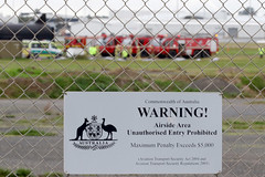 WARNING (adelaidefire) Tags: rescue fire mercedes benz airport aircraft air south australian australia ambulance adelaide service sa asa fighting panther metropolitan services mfs saas sprinter rosenbauer arff samfs ypad sasgar