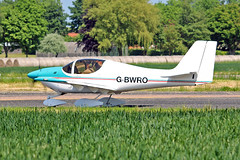"G-BWRO Europa D F Mickletwait Sturgate Fly In 05-06-16 (PlanecrazyUK) Tags: sturgate egcv ""fly in"" 070615 gbwro europa dfmickletwait fly in 050616"