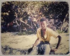 BVI Man (podolux) Tags: man person scan 1970 tortola youngman bvi britishvirginislands scannedslide postprocessing roadtown scanfromslide snapseed