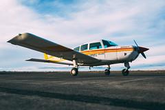 BIG BEND ONE (jonjonthejetplane) Tags: aviation airplane sigma1835 art beechcraft sundowner c23 low angle vscofilm ektar