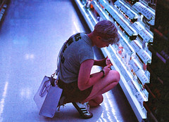 At Target (hpaton1) Tags: film analog purple charlotte canonef2470mmf28l canoneos1v lomochrome