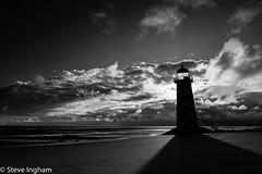 Lighthouse (ingham_steve) Tags: blackandwhite lighthouse beach landscape nikon lighthouses d750
