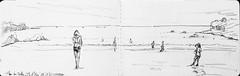 Ile d'Yeu, plage des Vieilles (Croctoo) Tags: croctoofr croctoo croquis crayon plage yeu