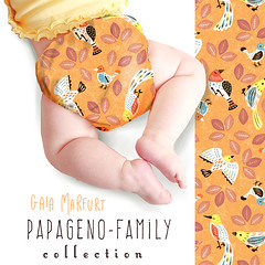 papagenomockup4 (Gaia Marfurt) Tags: illustration sewingforkids sew fabrics nappies econappies reusable clothnappies cloth babywear artlicensing spoonflower pattern papageno mozart music family selfmade selbstgemacht naehen