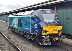 68025 at Kidderminster. 20/5/16 (Nick Wilcock) Tags: superb railways severnvalleyrailway kidderminster drs dieselgala vossloh directrailservices 68025 class68