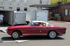 1957 Ferrari 250 GT Boano (Rivitography) Tags: red classic car canon vintage rebel italian connecticut ferrari exotic adobe 1957 t3 gt expensive 250 lightroom westhartford 2016 boano rivitography