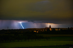 The Storm comes (BeSa_Photo) Tags: storm weather austria long exposure lightning steyr