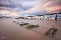 Trails of yesteryear (Steve Clasper) Tags: uk longexposure coast north coastal northern northeast hartlepool nd110 steetleypier steveclasper