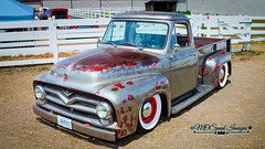 1955 Ford F-250 (Mark O'Grady - Proudly Serving Millions of Viewers) Tags: 2016 2016fleetwoodcountrycruizein auto automobile car classic classicautomobilephotography mospeedimages markogradydigitalstudio transportation fordmotorcompany ford fseries f250 pickup truck classictruck patina 1955