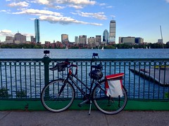 Biking and timelapsing ((Jessica)) Tags: summer bike bicycle boston timelapse massachusetts charlesriver newengland behindthescenes