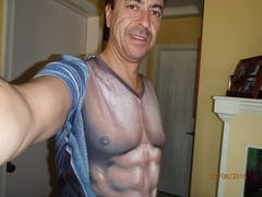 May 6, 2016 (osseous) Tags: shirtless muscles chest tshirt victor strongman 2016may