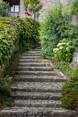 Un autre chemin (S@ndrine Nel) Tags: stairs escalier hautesavoie yvoire stonestaircase citmdivale villagemdival auvergnerhnealpes