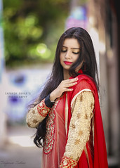 Polin (Safaria Suhas) Tags: red portrait people color cute green canon costume bokeh outdoor bangladesh cutegirl cutelook chandpur
