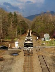 Ridgecrest (JayLev) Tags: mountain train ns summit coal allegheny ridgecrest