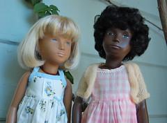 School's Out (Emily1957) Tags: sashadolls sashadoll cora blackdoll vinyl vintage dolls doll toys toy checks light naturallight nikond40 nikon kitlens