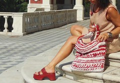 borsa tracolla tessuto (stranelane1) Tags: bag tricot knitting knit clothes cotton knitted borsa maglia tessuto cotone tracolla