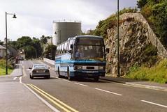 Skye Ways A47OVF Kyle 1994 (Rightgoodmotor) Tags: a47ovf a901kah leyland tiger plaxton paramount skye ways clan kyle scottish scotland bus