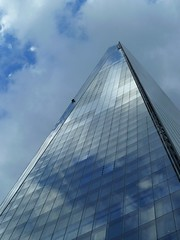Cleaning the Shard (Richard and Gill) Tags: london architecture londonbridge shard southwark shardofglass