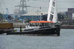 Recovery (kenjonbro) Tags: uk london boat greenwich tugboat tug riverthames recovery wastemanagement se10 coryenvironmental kenjonbro coryriverside royalgreenwichborough