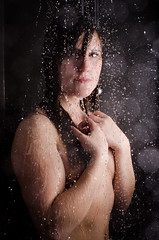 In the shower (rni F. Sigursson) Tags: white sexy wet water beauty female naked nude shower iceland drops nikon wome