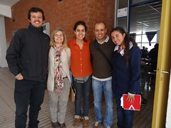 Picture from iCat Fellow Fabio in Chile - Visiting Leaders in action