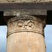 Pompeii: Stabian Baths (stuccoed capital, palaestra)