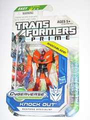 transformers prime cyberverse legion class knock out mosc a (tjparkside) Tags: out prime class transformers weapons knock legion hasbro decepticon specialist mosc cyberverse shockblade