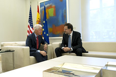 Bill Clinton (Mariano Rajoy Brey) Tags: madrid espaa billclinton moncloa marianorajoy presidentedelgobierno
