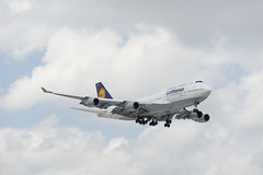Lufthansa 747-4 (UnfinishedPortraitmaker) Tags: airplane aircraft aviation boeing ord lufthansa boeing747 747 ohareinternationalairport