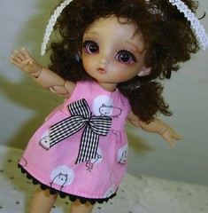 My wild little Russian girl! (Ayla160 >^..^<) Tags: brown ball doll skin little small tan tiny bjd sonia luts delf gretel jointed sofy