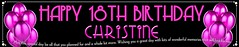 3m Fuschia (bannerfanatics) Tags: birthday party people cakes happy photo engagement photos parties holly blessing celebration part happybirthday christening banners celebrate communion sweetsixteen hotpink birthdaycakes weddingcakes happy21st christeningday happy16th celebrationbanners happychristening