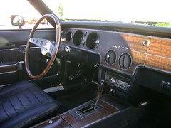 1970 AMC AMX (splattergraphics) Tags: interior dash 1970 amc amx cruisenight americanmotors abingdonmd lowescruise