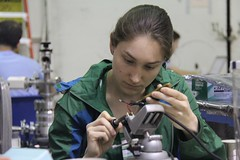 "Johanna soldering • <a style=""font-size:0.8em;"" href=""http://www.flickr.com/photos/27717602@N03/9088185413/"" target=""_blank"">View on Flickr</a>"