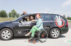 (abi111) Tags: wheelchair wheelchairlady flickrandroidapp:filter=none