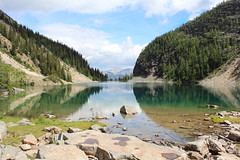 Lake Agnes ( mpg) Tags: lake nature water canon photography eos banff lakeagnes banffnationalpark 35faves 100com500views25favs saariysqualitypictures blinkagain