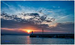 La quitude (bernard78br) Tags: sea sky cloud mer port canon eos harbour sigma ciel nuage nuages tamron hdr 2010 500d tamron18270 nicksoftware lightroom5 18270mm