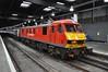 """DB Schenker Class 90, 90018 (37190 """"Dalzell"""") Tags: red london euston skoda class90 90018 dbschenker class900"""
