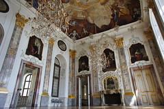 Bruchsal baroque interior