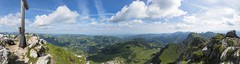 Schwarzsee / Ref.04120 (FRIBOURG REGION) Tags: panorama clouds landscape schweiz switzerland suisse wolke nuages paysage landschaft schwarzsee lacnoir kaiseregg fribourgregion