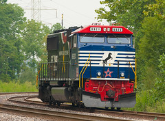 NS 6920 Yankeetown IN 08 Sept 2013 (Train Chaser) Tags: ns norfolksouthern sd60m ns6920