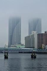 Rainy day, Tokyo (Electra K. Vasileiadou) Tags: rain japan fog clouds tokyo nikon asia   nikkor  harumi kanto chuoku      d7000  gettyimagesjapan13q3