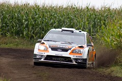 130921 13 Hellendoornrally _ Erik van Loon en Harmen Scholtalbers _ Ford Focus RS WRC '09 (homestee) Tags: en ford focus 09 wrc erik van rs loon motorsport unica rallysport harmen schutte rijssen 2013 beltman kp9 scholtalbers hellendoornrally