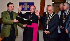 Blessing (morenoberti) Tags: parish catholic mayor anniversary knights cumbria carlisle knightsofstcolumba snapseed