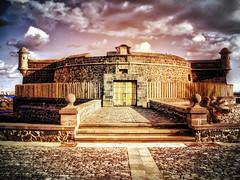 Castillo Negro Tenerife (*atrium09) Tags: sky espaa santacruz color castle colors architecture clouds island arquitectura canarias nubes tenerife canary isla castillo hdr anaga atrium09 rubenseabra